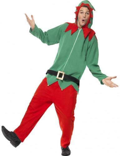 Verkleedkostuum Elf voor volwassenen Kerst