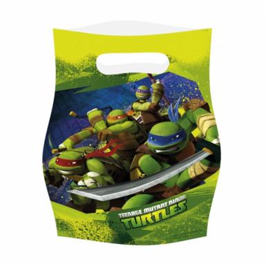 Set van 6 feestzakjes Ninja Turtles™