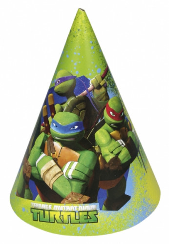 Set Ninja Turtles™ feesthoedjes