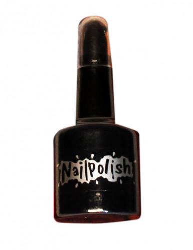 2 in 1 zwarte nagellak en lippenstift voor volwassenen