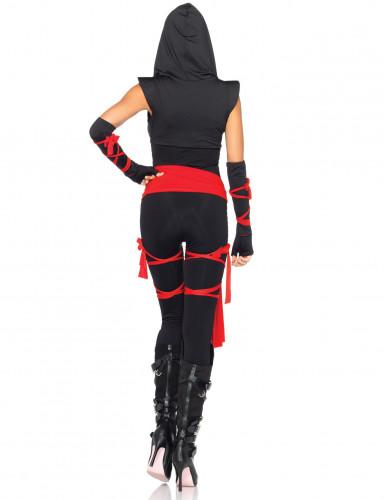 Sexy ninja outfit voor dames -1