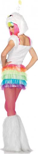 Regenboog monster kostuum voor dames-1