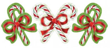 Zuurstok kerst decoratie
