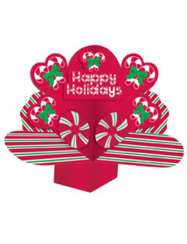 Happy Holidays tafeldecoratie kerstmis