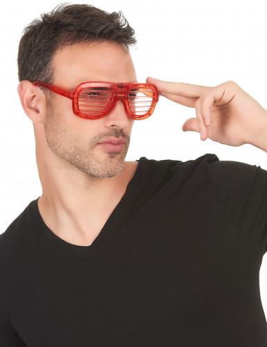 Rode bril met lichtjes-1