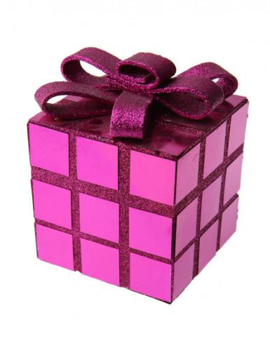 Roze cadeau decoratie Kerstmis
