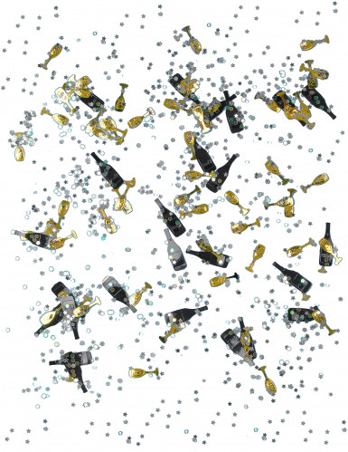 14 gram Nieuwjaar confetti-1