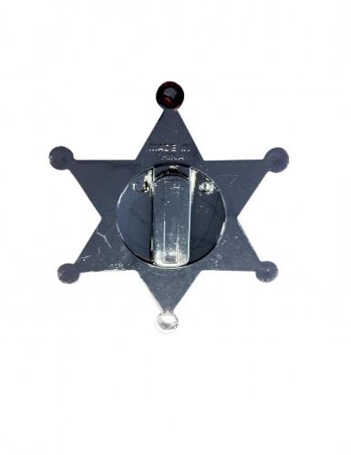 Zilverkleurige sheriff ster-1