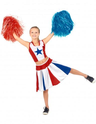 Cheerleader ster kostuum voor meiden