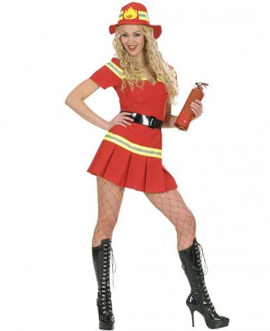 Sexy brandweer outfit voor dames