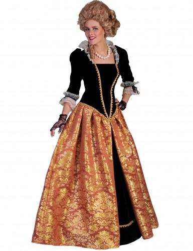 Barok keizerin kostuum voor vrouwen