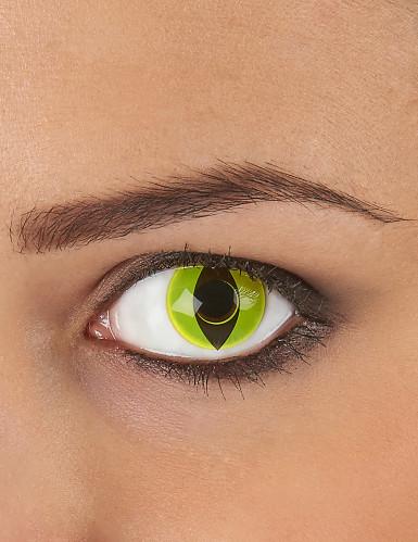 Reptiel oog lenzen geel
