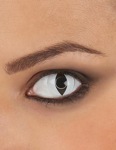 Reptiel oog lenzen wit