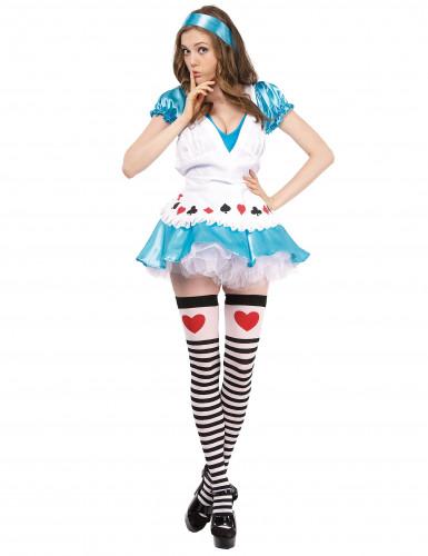 Sexy Alice kostuum voor vrouwen