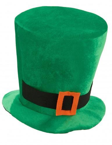 Groene St patrick's hoed