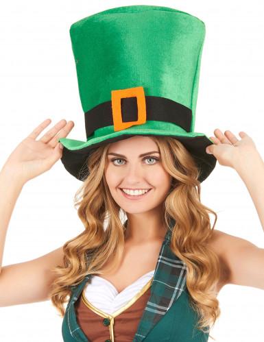 Groene St patrick's hoed-1