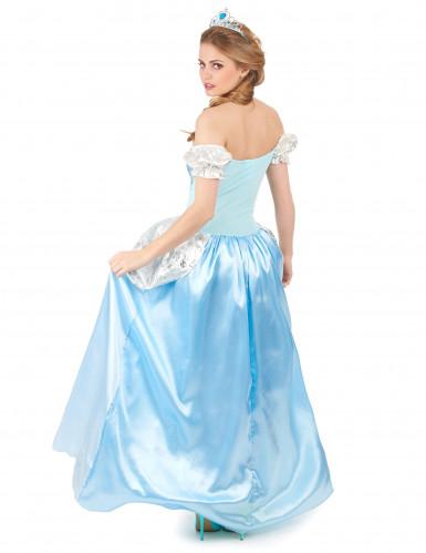 Blauw prinsessen kostuum voor dames-2