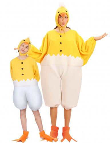 Koppels Kostuums Kuiken ouders en kinderen