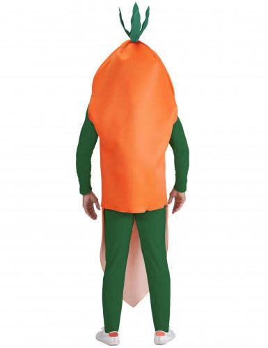 Oranje wortel pak voor volwassenen-1