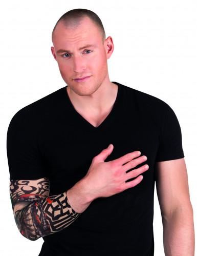 Skelet tattoo mouw