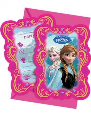 Frozen Uitnodigingen, 6 Stuks