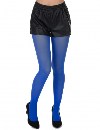 Blauwe panty's