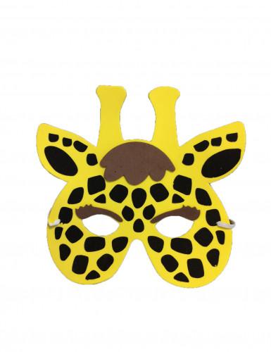 Giraffe masker voor kinderen