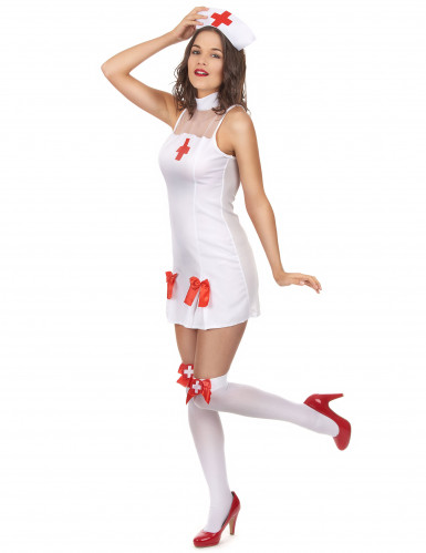 Verkleedkostuum verpleegster voor dames-1