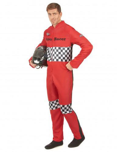 Auto coureur kostuum voor mannen-1