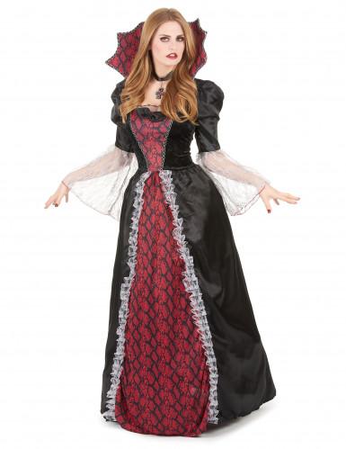 Bordeaux vampier kostuum voor vrouwen