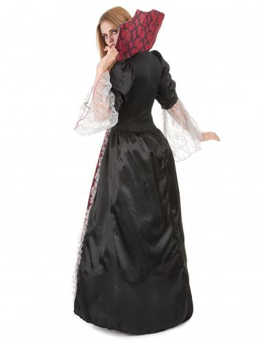 Bordeaux vampier kostuum voor vrouwen -1