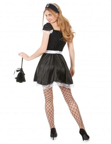 Frans kamermeisje kostuum voor vrouwen-2