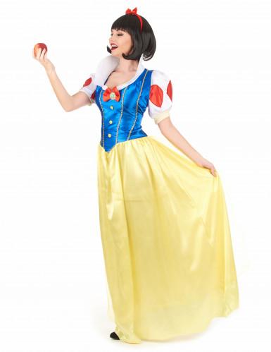 Sierlijk Sneeuwwitje kostuum voor dames-1