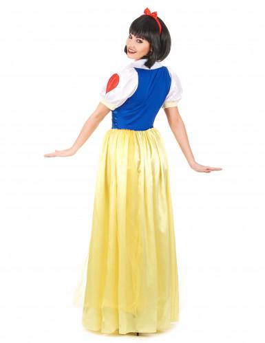 Sierlijk Sneeuwwitje kostuum voor dames-2