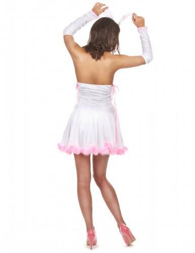 Sexy konijn kostuum voor dames-2