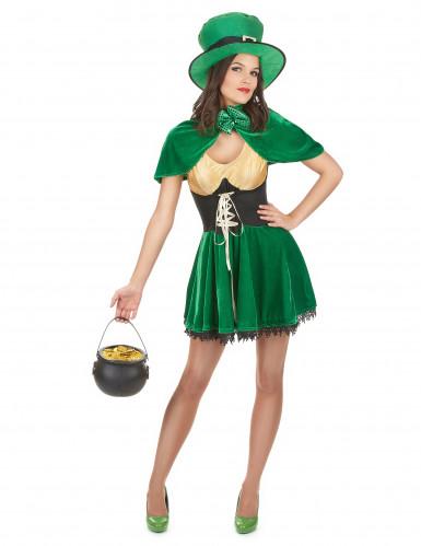 Kabouter kostuum voor vrouwen St Patrick