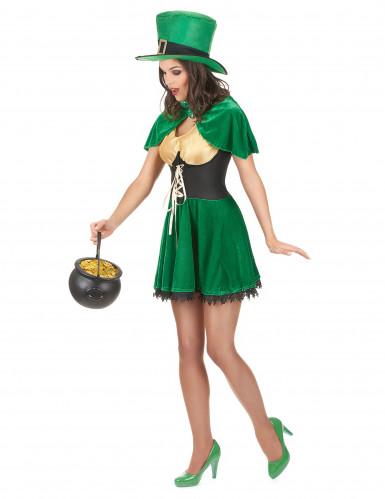 Kabouter kostuum voor vrouwen St Patrick-1