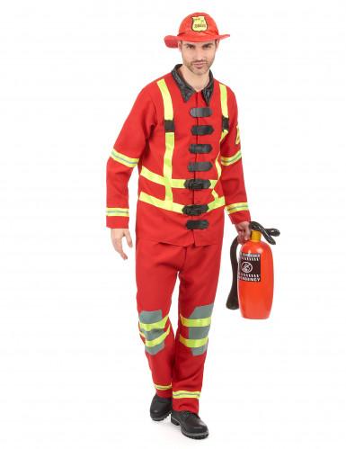 Brandweerman kostuum voor mannen