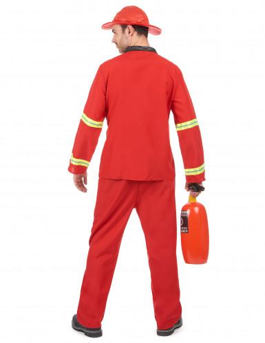 Brandweerman kostuum voor mannen-2