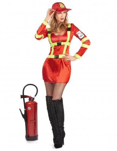 Brandweer kostuum voor vrouwen-1