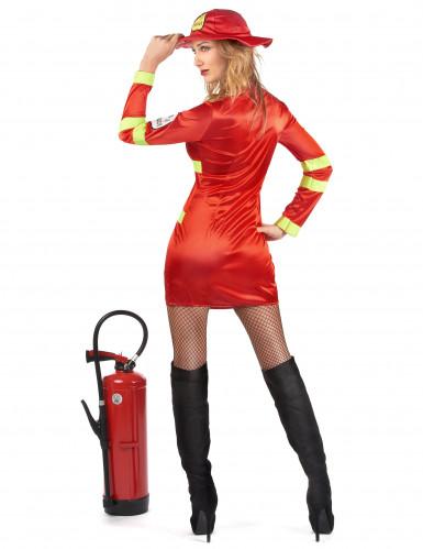 Brandweer kostuum voor vrouwen-2