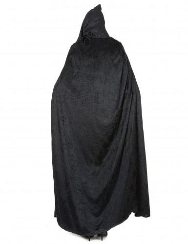 Zwarte Halloween cape voor volwassenen-4