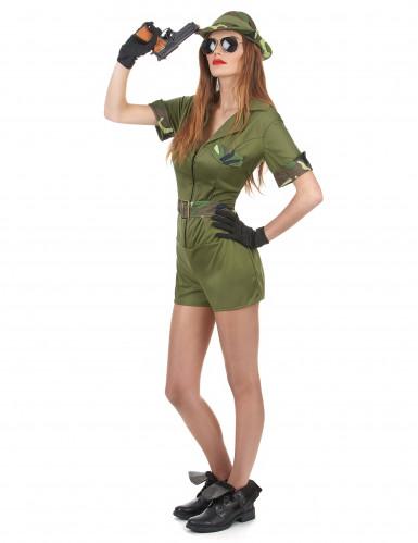 Sexy soldier soldaten kostuum voor vrouwen-1