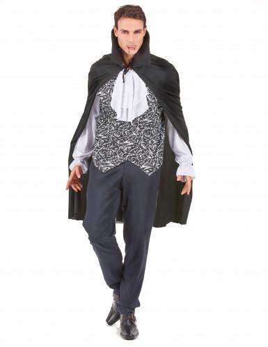 Verkleedkostuum vampier voor heren Halloween pak