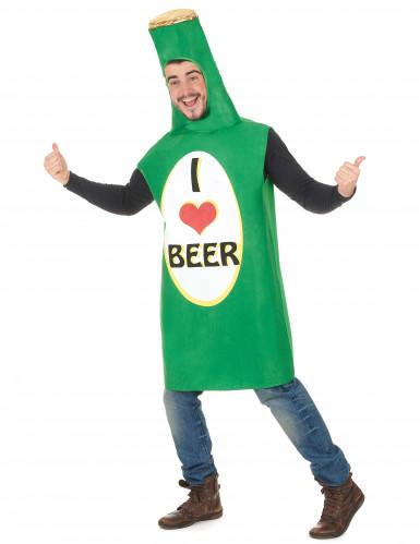 Bierfles kostuum voor volwassenen-1