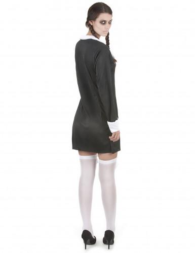 Duister gothic schoolmeisje jurk voor vrouwen -2