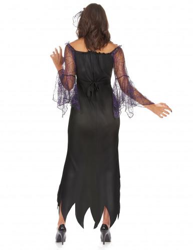 Paarse spin kostuum voor vrouwen-2