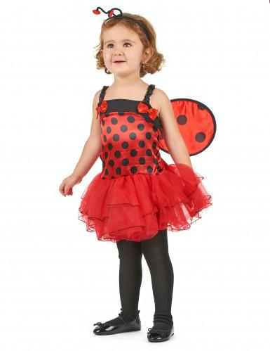 Lieveheersbeestje outfit met vleugels voor meisjes-1