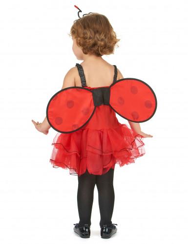 Lieveheersbeestje outfit met vleugels voor meisjes-2