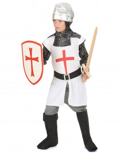 Ridder kruistocht kostuum voor jongens-1